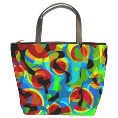 Colorful Smoothie  Bucket Bags