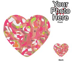 Pink Smoothie  Multi Purpose Cards (heart)