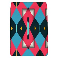 Triangles Stripes And Other Shapes                                                                                                        removable Flap Cover (s)
