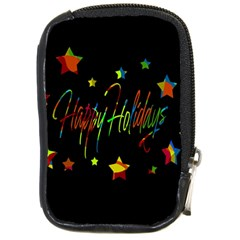 Happy holidays Compact Camera Cases