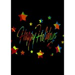 Happy holidays Circle Bottom 3D Greeting Card (7x5) Inside