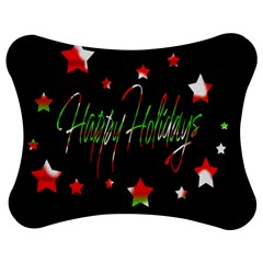 Happy Holidays 2  Jigsaw Puzzle Photo Stand (Bow)