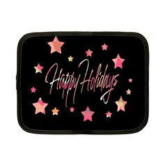 Happy Holidays 3 Netbook Case (Small)