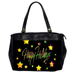 Happy Holidays 4 Office Handbags (2 Sides)