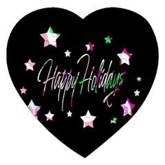 Happy Holidays 5 Jigsaw Puzzle (Heart)