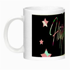 Happy Holidays 5 Night Luminous Mugs