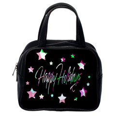 Happy Holidays 5 Classic Handbags (One Side)