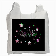 Happy Holidays 5 Recycle Bag (One Side)