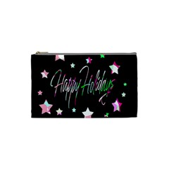 Happy Holidays 5 Cosmetic Bag (Small)