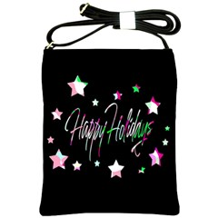 Happy Holidays 5 Shoulder Sling Bags