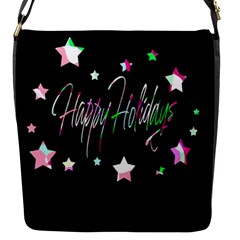 Happy Holidays 5 Flap Messenger Bag (s)