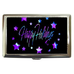 Happy Holidays 6 Cigarette Money Cases