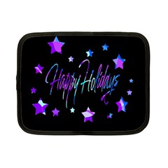 Happy Holidays 6 Netbook Case (Small)