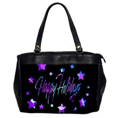Happy Holidays 6 Office Handbags (2 Sides)