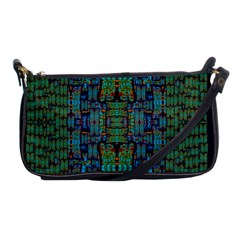 A Bird I Am From Paradise Shoulder Clutch Bags