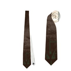 Greentechtie Necktie (two Sided)