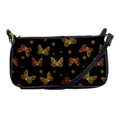 Insects Motif Pattern Shoulder Clutch Bags