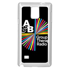 Above & Beyond  Group Therapy Radio Samsung Galaxy Note 4 Case (White)