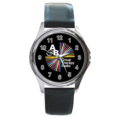 Above & Beyond  Group Therapy Radio Round Metal Watch