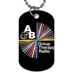 Above & Beyond  Group Therapy Radio Dog Tag (One Side) Front
