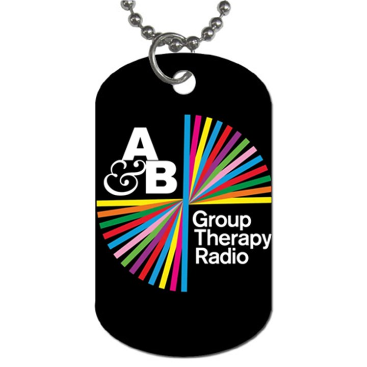 Above & Beyond  Group Therapy Radio Dog Tag (One Side)