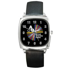 Above & Beyond  Group Therapy Radio Square Metal Watch