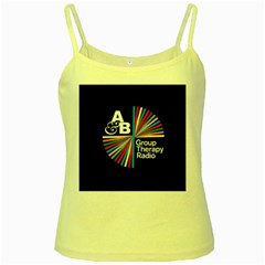 Above & Beyond  Group Therapy Radio Yellow Spaghetti Tank