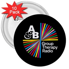 Above & Beyond  Group Therapy Radio 3  Buttons (10 Pack)