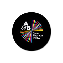 Above & Beyond  Group Therapy Radio Rubber Round Coaster (4 pack)