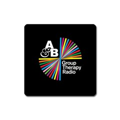 Above & Beyond  Group Therapy Radio Square Magnet