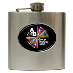Above & Beyond  Group Therapy Radio Hip Flask (6 oz)