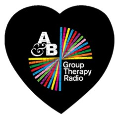 Above & Beyond  Group Therapy Radio Jigsaw Puzzle (Heart)