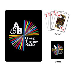 Above & Beyond  Group Therapy Radio Playing Card