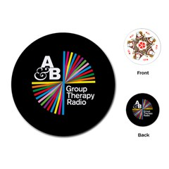 Above & Beyond  Group Therapy Radio Playing Cards (Round)