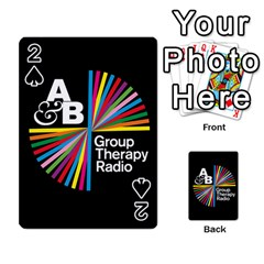 Above & Beyond  Group Therapy Radio Playing Cards 54 Designs