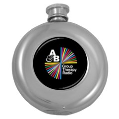 Above & Beyond  Group Therapy Radio Round Hip Flask (5 oz)