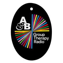 Above & Beyond  Group Therapy Radio Oval Ornament (Two Sides)