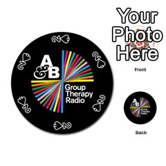 Above & Beyond  Group Therapy Radio Playing Cards 54 (round)
