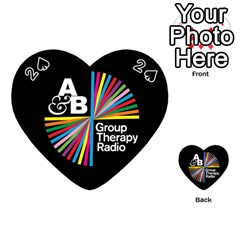 Above & Beyond  Group Therapy Radio Playing Cards 54 (Heart)
