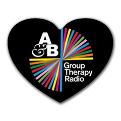 Above & Beyond  Group Therapy Radio Heart Mousepads