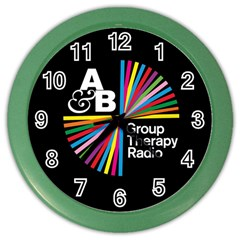 Above & Beyond  Group Therapy Radio Color Wall Clocks