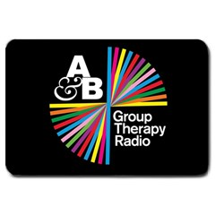 Above & Beyond  Group Therapy Radio Large Doormat
