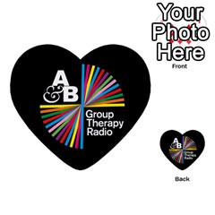 Above & Beyond  Group Therapy Radio Multi-purpose Cards (Heart)