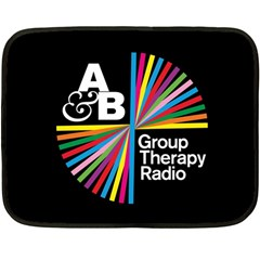 Above & Beyond  Group Therapy Radio Double Sided Fleece Blanket (Mini)