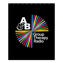 Above & Beyond  Group Therapy Radio Shower Curtain 60  x 72  (Medium)