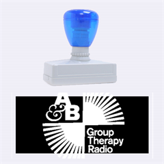 Above & Beyond  Group Therapy Radio Rubber Stamps (Large)