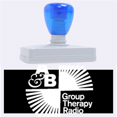 Above & Beyond  Group Therapy Radio Rubber Address Stamps (XL)