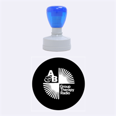 Above & Beyond  Group Therapy Radio Rubber Round Stamps (Medium)