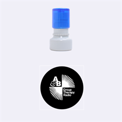 Above & Beyond  Group Therapy Radio Rubber Round Stamps (Small)