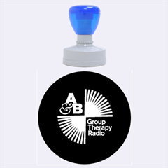 Above & Beyond  Group Therapy Radio Rubber Round Stamps (Large)